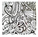 Dimanche 23 juin de 9h à 12h : atelier Art Tangle